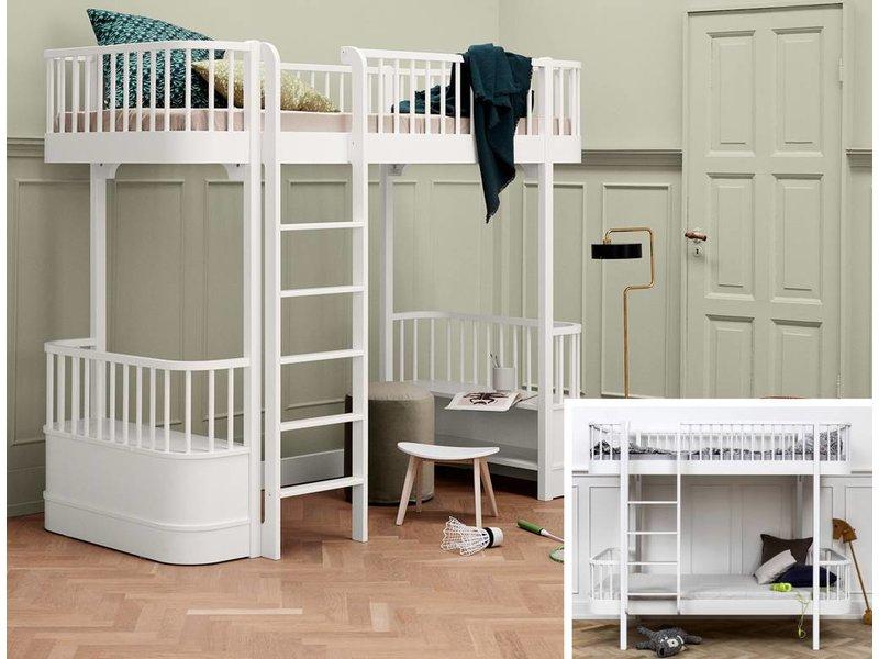 Etagenbett Oliver : Wood umbausatz vom etagenbett zum hochbett in weiß www.romy