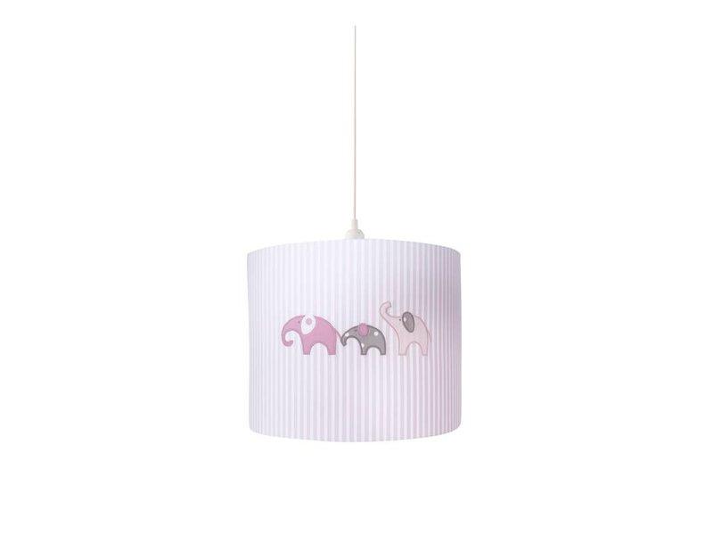 Annette Frank Hängelampe Elefant rosa