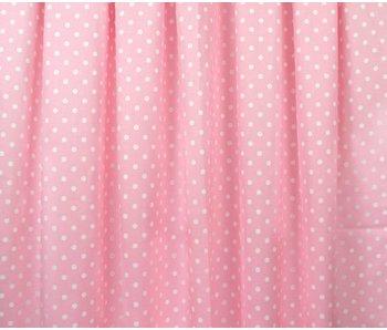 Annette Frank Vorhang Spielbett Dots rosa