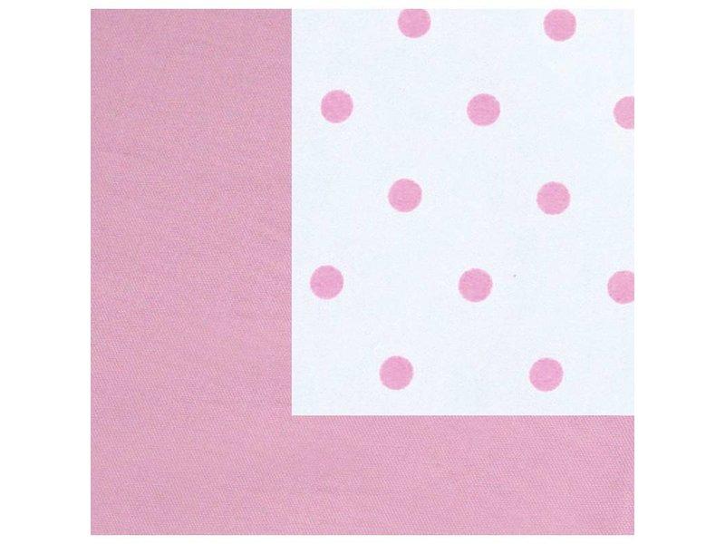 Annette Frank Utensilo-Rückwand Punkte rosa 200 x 85 cm