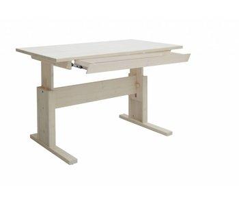 LIFETIME Höhenverstellbarer Schreibtisch mit Schublade