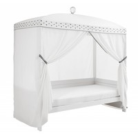 Bed canopy Dottie with crown
