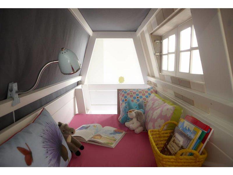 LIFETIME Abenteuerbett Hangout in weiß