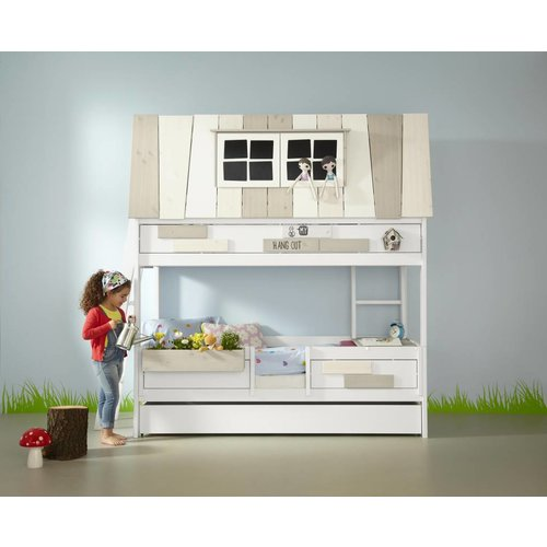 LIFETIME Adventure bed Hangout in white