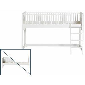Oliver Furniture Umbau vom Einzelbet zum halbhohen Hochbett