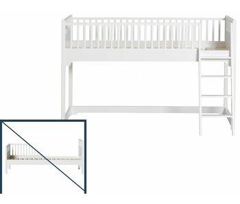 Oliver Furniture Umbau vom Einzelbett/Bettsofa zum halbhohen Bett