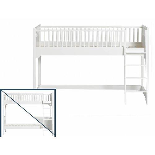 Oliver Furniture Umbau vom Hochbett/Etagenbett zum halbhohen Bett