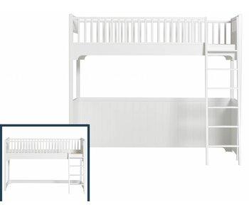 Oliver Furniture Umbau vom halbhohen Hochbett zum Hochbett