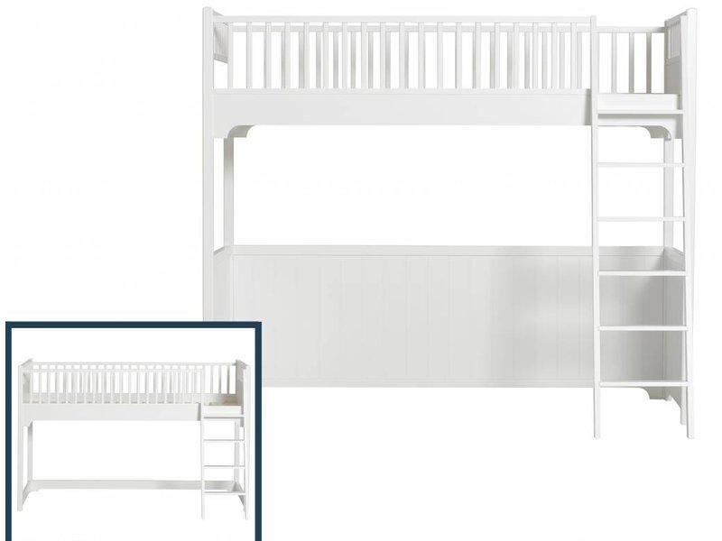 Oliver Furniture Umbau vom halbhohen Hochett zum Hochbett