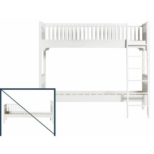 Oliver Furniture Umbau vom Einzelbett/Bettsofa zum Etagenbett