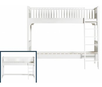 Oliver Furniture Umbau vom Hochbett zum Etagenbett
