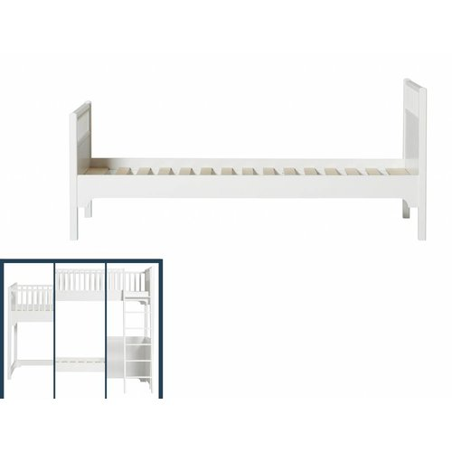 Oliver Furniture Umbausatz von allen hohen Betten zum Einzelbett
