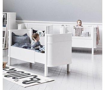 Sanders Sofus Babybett 70 x 140 cm weiß