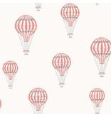 """Boråstapeter Tapete """"André""""  Heißluftballons rot - Scandinavian Designers Mini"""