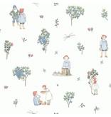 "Boråstapeter Tapete ""Putte""  Abenteuer im Blaubeerwald - Scandinavian Designers Mini"