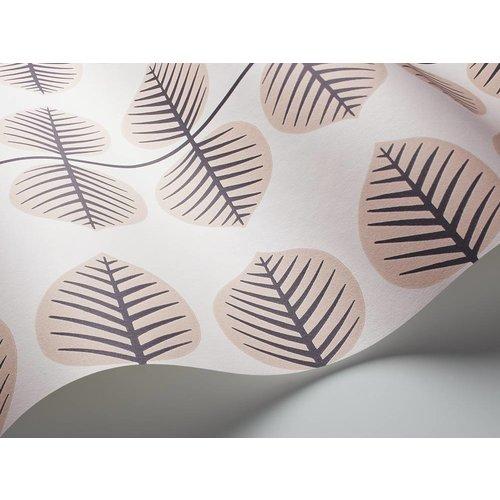 "Boråstapeter Tapete ""Bersa 2"" Blattmuster in rosa - Scandinavian Designers Mini"