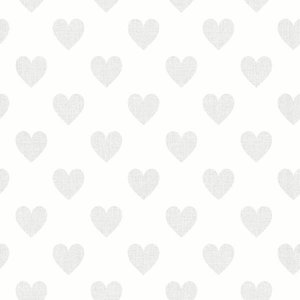 "Boråstapeter Tapete ""Sweetheart"" weiß"