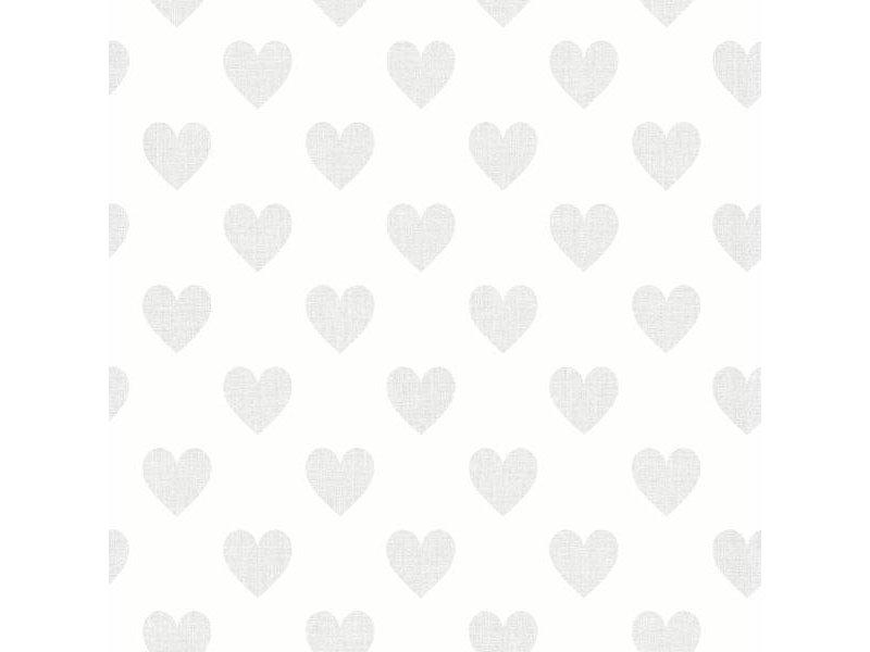 "Boråstapeter Tapete ""Sweetheart"" hauchzarte Herzen - Scandinavian Designers Mini"
