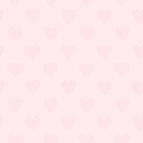 "Boråstapeter Tapete ""Sweetheart"" pink auf rosa"