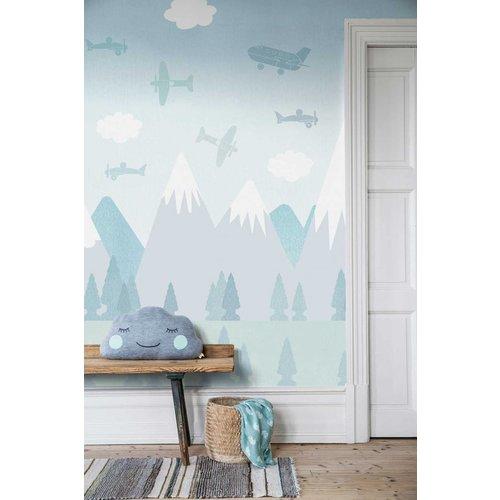 "Boråstapeter Wandbild ""Brio Air"" Flug durch die Berge - Scandinavian Designers Mini"