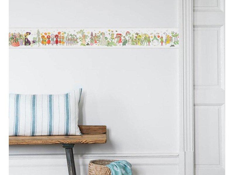 "Boråstapeter Bordüre ""Blomsterparaden"" Blumenparade - Scandinavian Designers Mini"