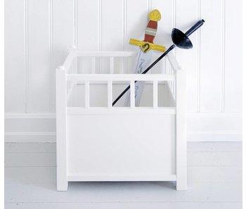 Oliver Furniture Spielzeugtruhe Cube, weiß