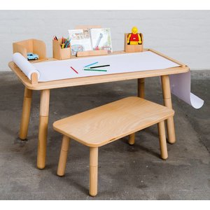 Pure Position Growing Table Tisch Buche