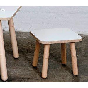 Pure Position Hocker für Growing Table weiß