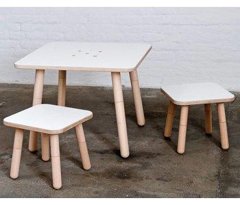 Pure Position gt Tisch 80 x 80 cm, weiß
