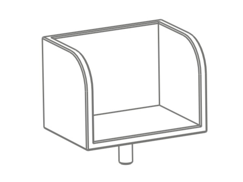 Pure Position gt Bücherboard T3 reinweiss