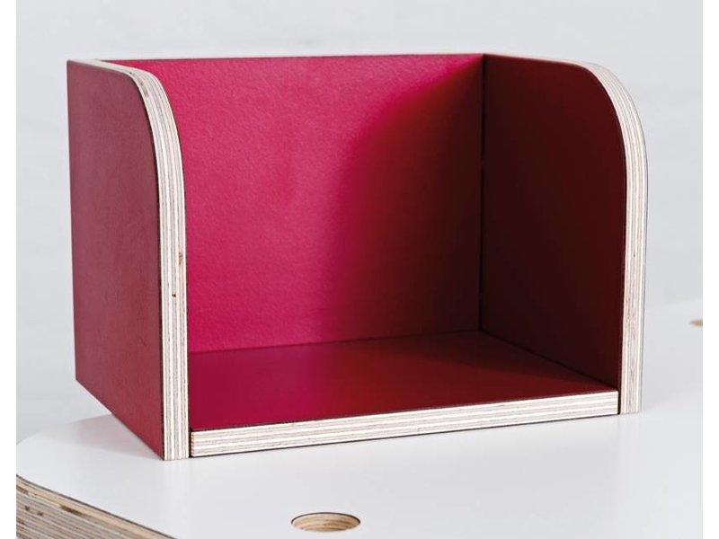 Pure Position gt Bücherboard T3 rubinrot