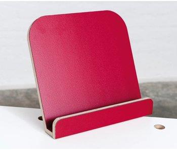 Pure Position gt Buchaufsteller T4 rubinrot