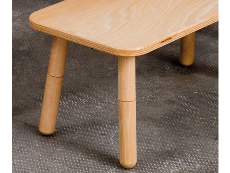 Pure Position Hocker für Growing Table Buche