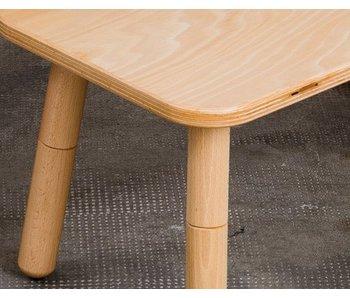 Pure Position gt Tisch 80 x 80 cm, Buche