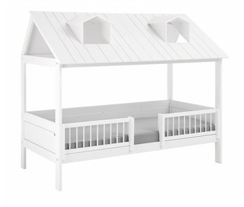 LIFETIME Basic bed Beachhouse white
