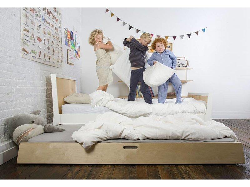 Oeuf Kinderbett Sparrow weiß 90x 200 cm