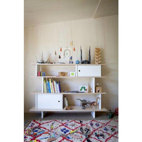 Oeuf Bücherregal Mini Library Birke