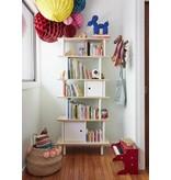 Oeuf Bücherregal Mini Library vertikal Walnuss