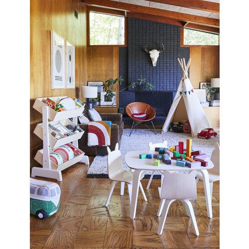 Oeuf Spielzeugregal Toy Store weiß-Birke