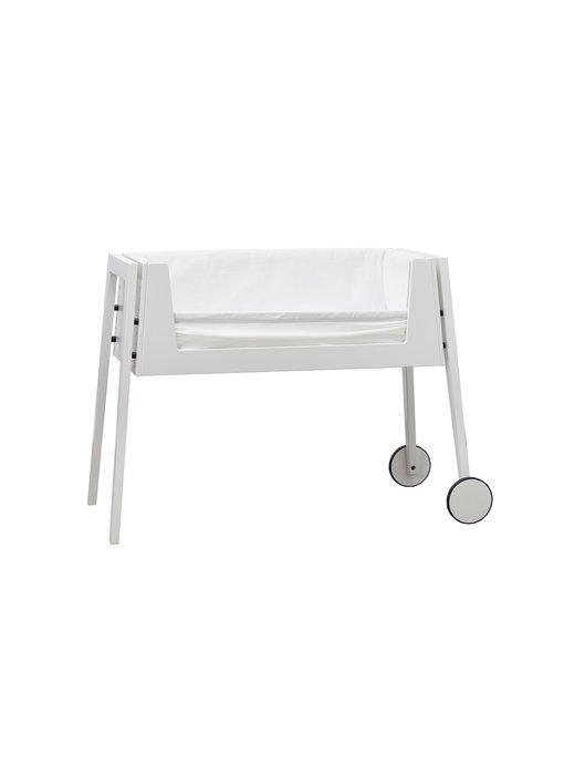 Leander LINEA Side-By-Side-Bett Weiß