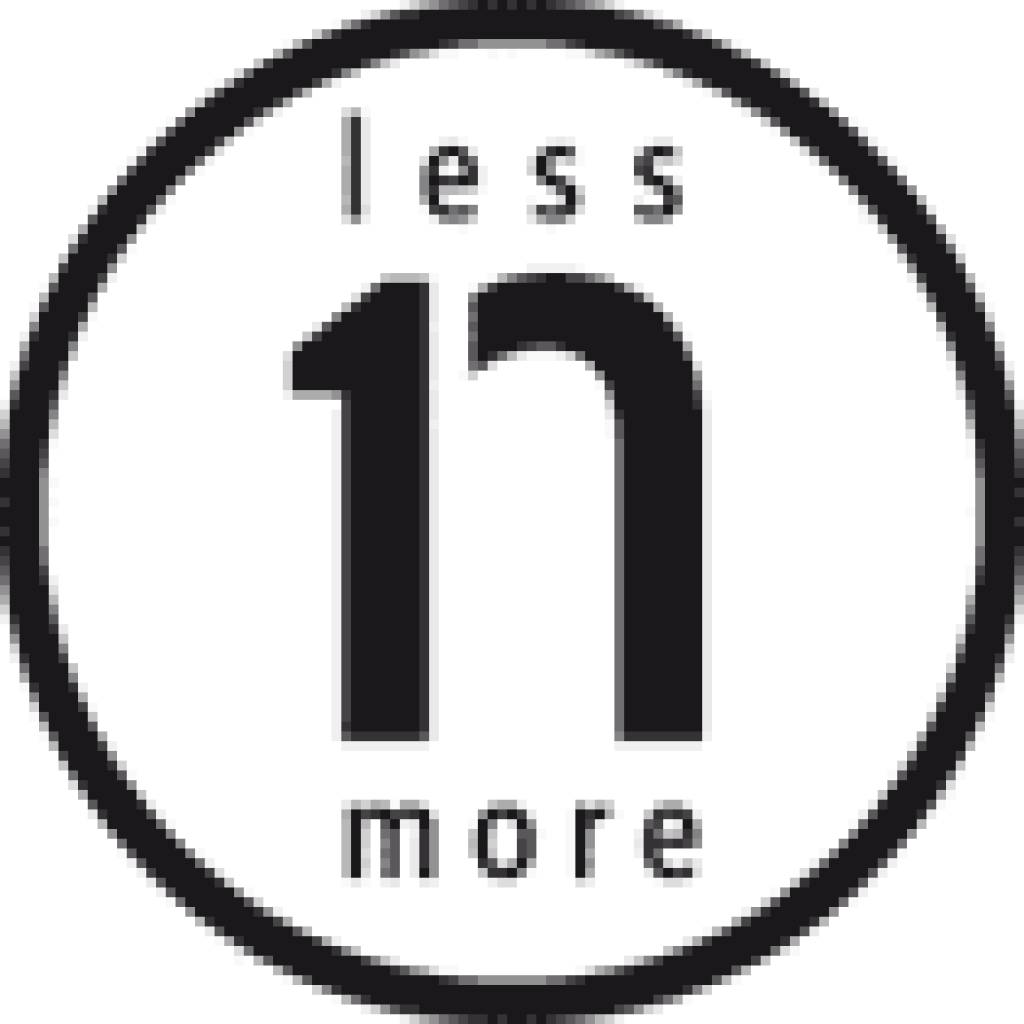 less'n'more