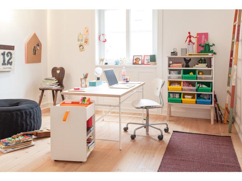 Richard Lampert Schreibtischstuhl Turtle weiß