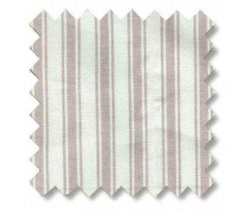Oliver Furniture Dekostoff Rosa-weiße Streifen