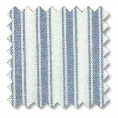 Oliver Furniture Bodenkissen hellblau gestreift