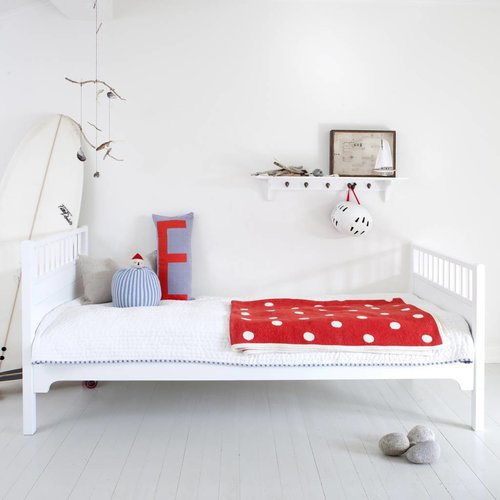 Oliver Furniture Classic bed 90 x 200 cm, white