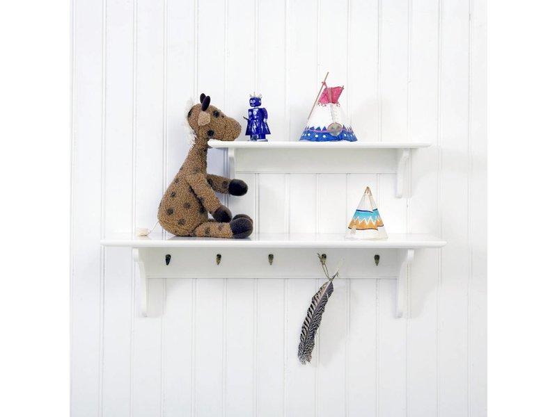 Oliver Furniture Wandregal mit Haken 20x60