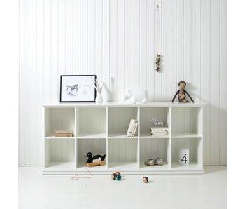 Oliver Furniture Regalschrank mit 10 Fächern, weiß