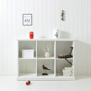 Oliver Furniture Regal mit 6 Fächer, weiß