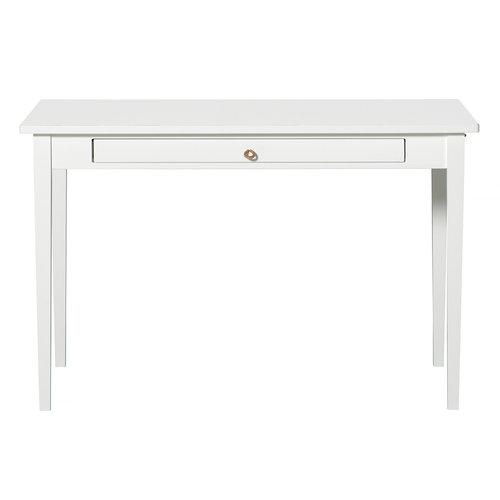 Oliver Furniture Junior Tisch mit Lederband, weiß