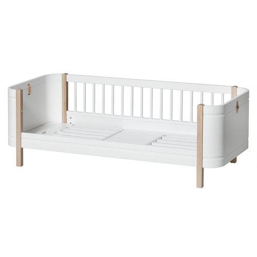 Oliver Furniture Wood Mini+ Junior bed, white-oak
